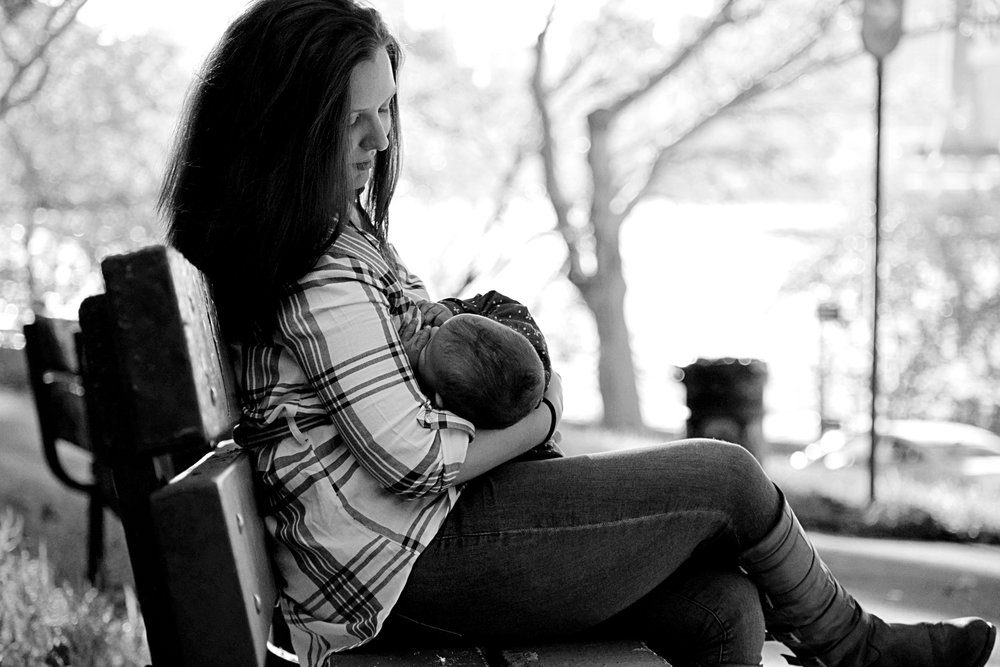 Breastfeeding Motherhood Maternity Portrait Photography NYC Connecticut