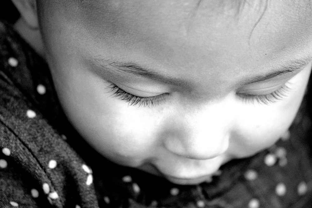 Child Black and White Portrait Photography NYC Connecticut