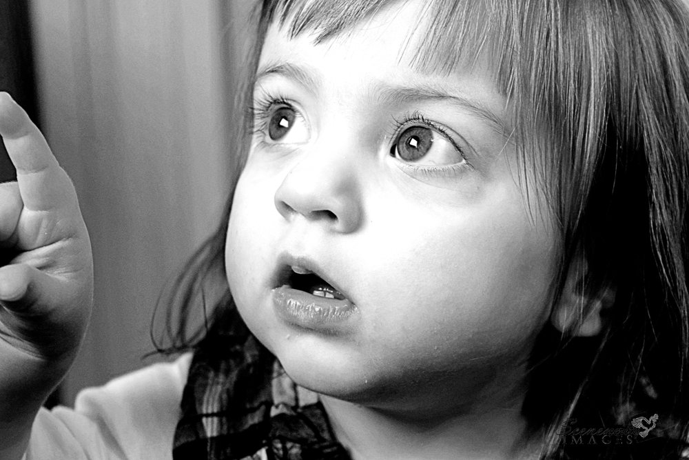 Young Girl Toddler Child Family Portrait Photography NYC Connecticut Black and White