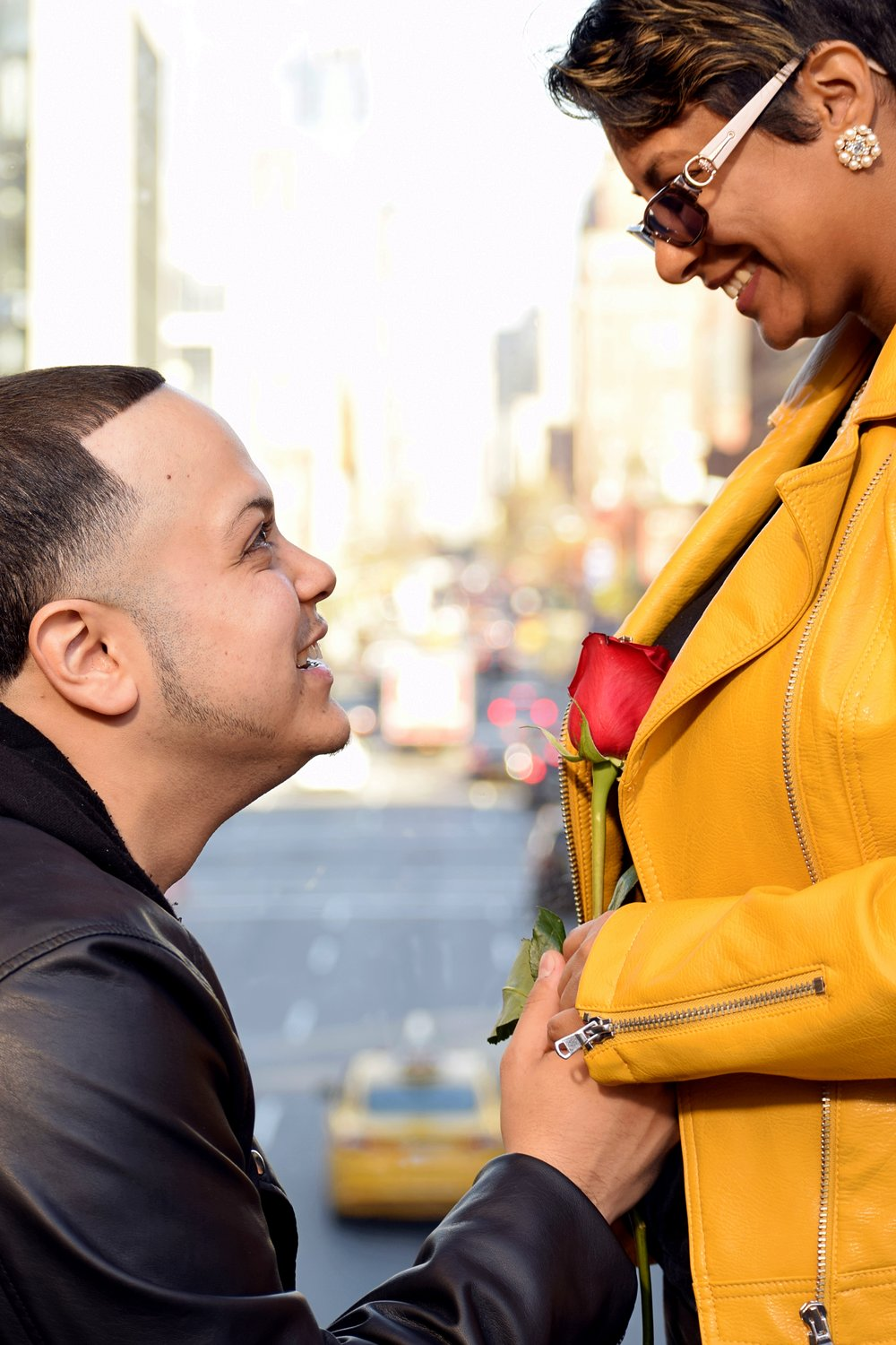 The Highline Manhattan NYC Engagement Photography