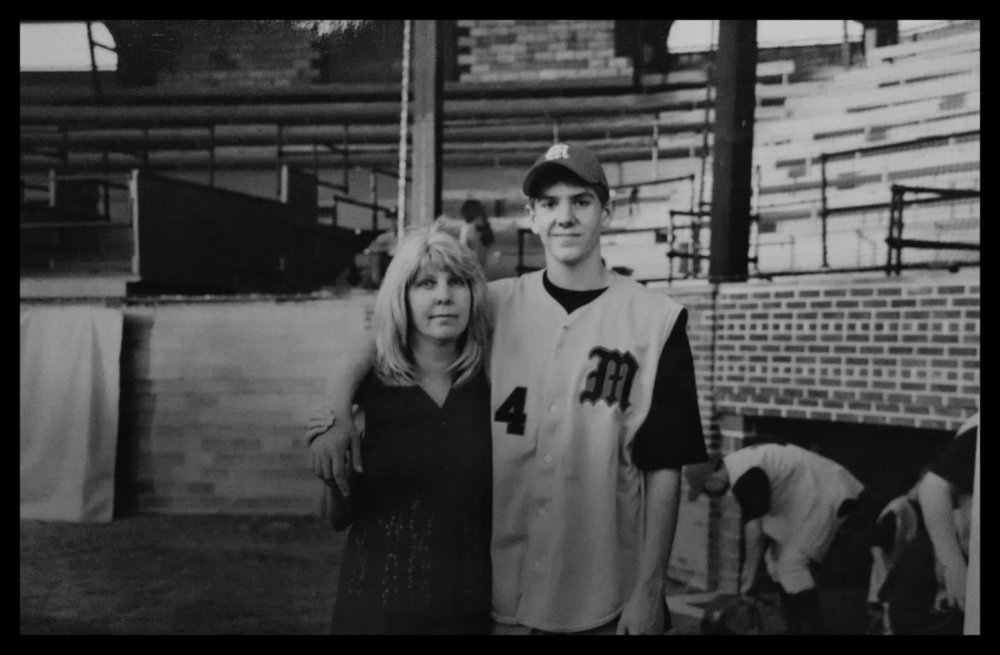Tim and his mother circa late 90's.