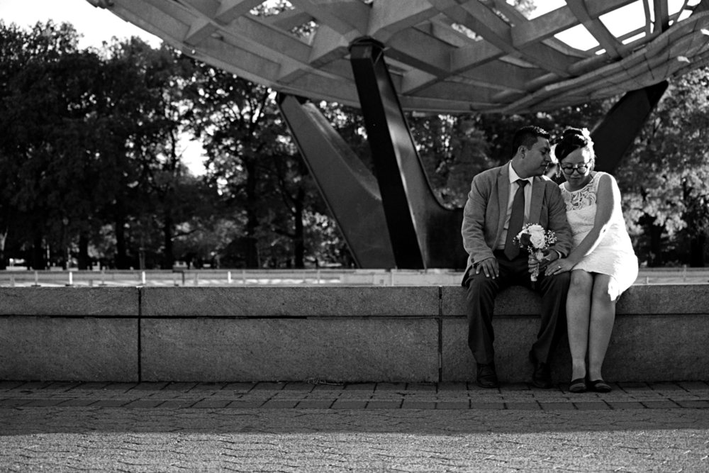 City Hall Wedding Photography Corona Park Queens NYC