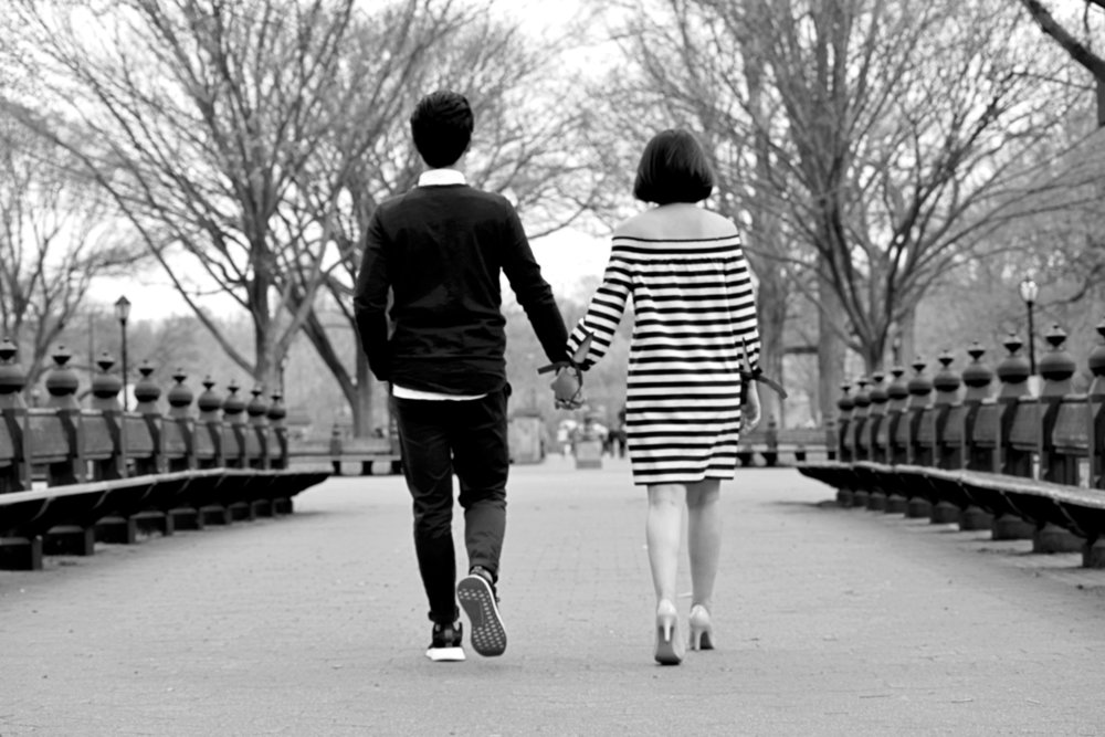 Literary Walk Central Park Engagement Session Photography NYC Connecticut