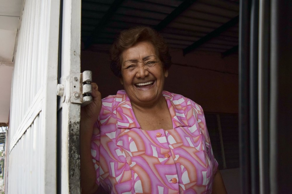 Honduras Happy Grandmother Portrait