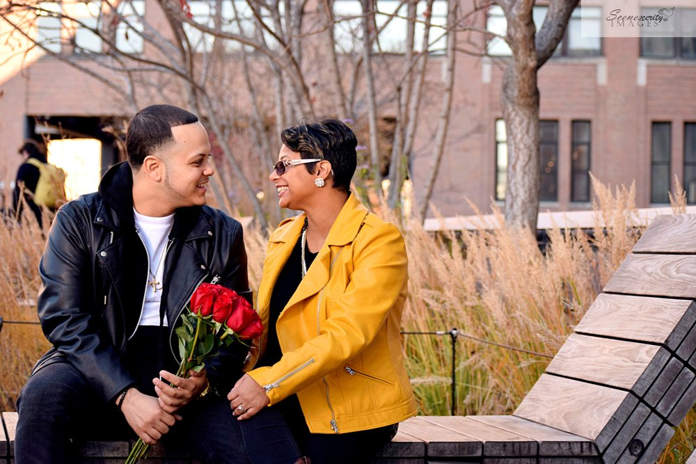 NYC Highline Engagement Photography