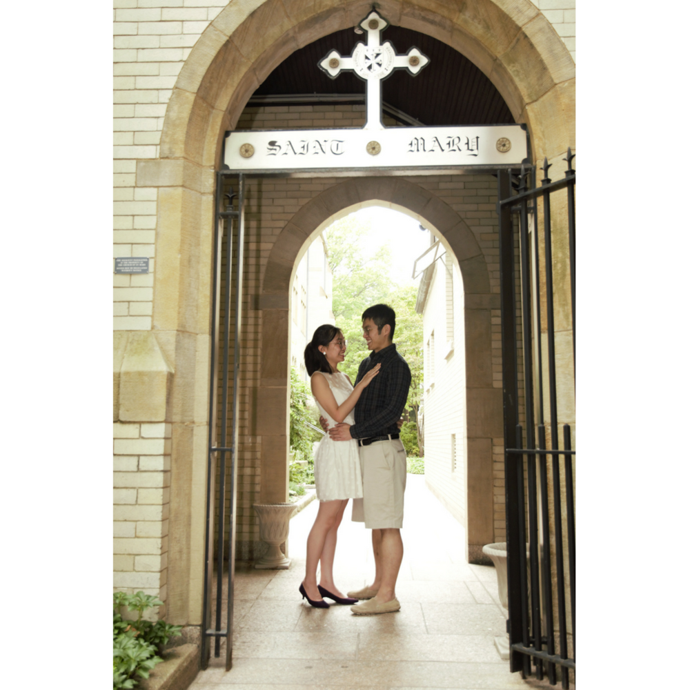 Yale University Engagement Photography, Connecticut engagement photographer