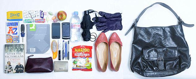 stuff that fits in handbag - dailymail