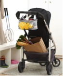 Stroller organizer and useful storage space