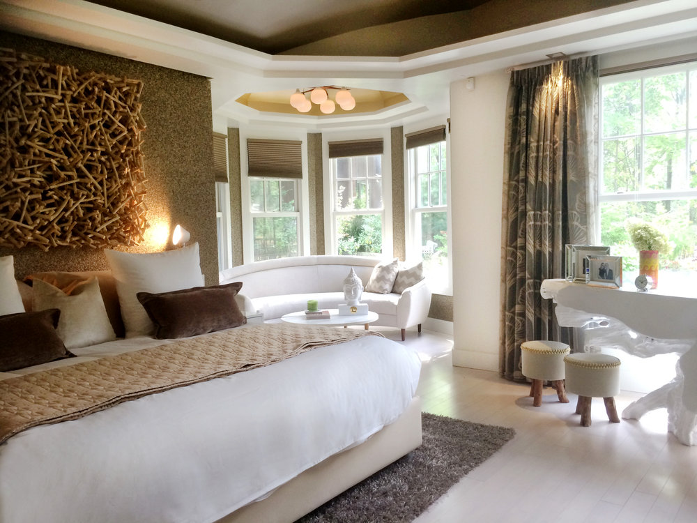 interior styling staging nyc long island luxury bedroom