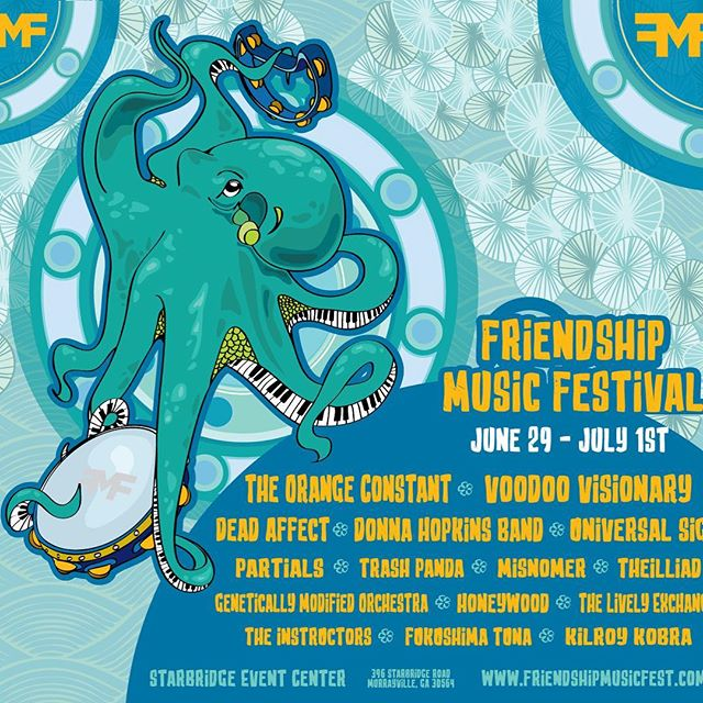 Come party with us at this amazing festival! @friendshipmusicfest