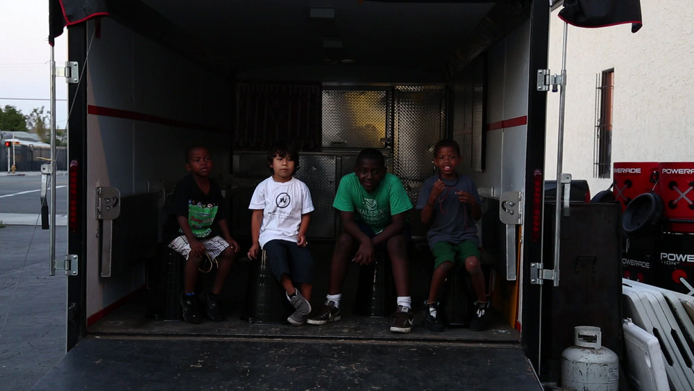 "Southern California Falcons Youth Football Program - Mobile Homework Trailer - ""Athletics after academics"""