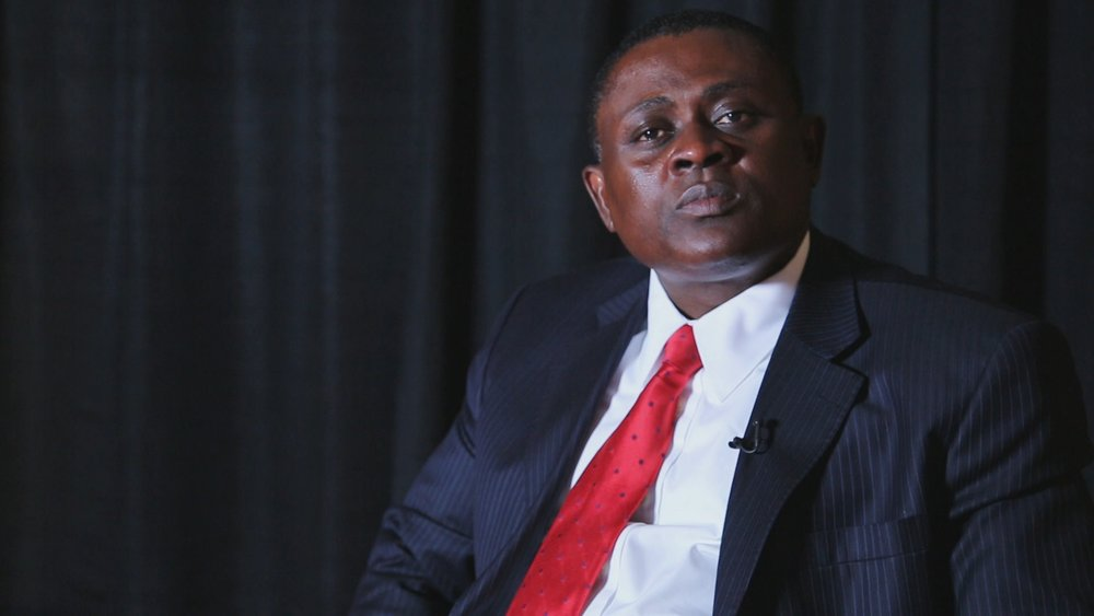 Dr. Bennet Omalu, a forensic pathologist who examined the brains of several deceased NFL players and was the first to publish findings of Chronic Traumatic Encephalopathy in American football players (May 2013)