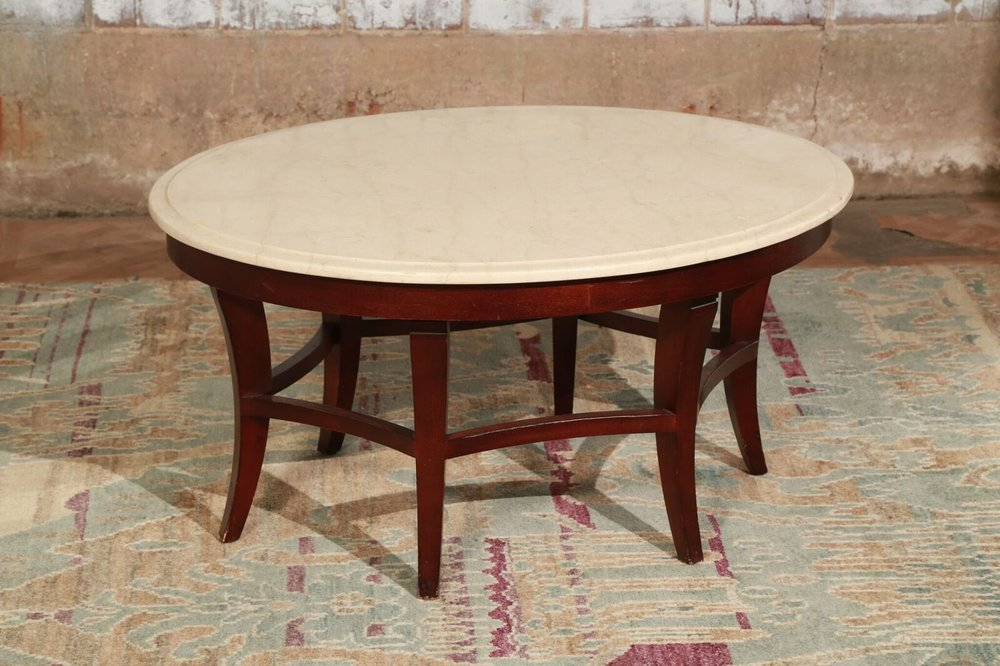 Small Oval Coffee Table $99