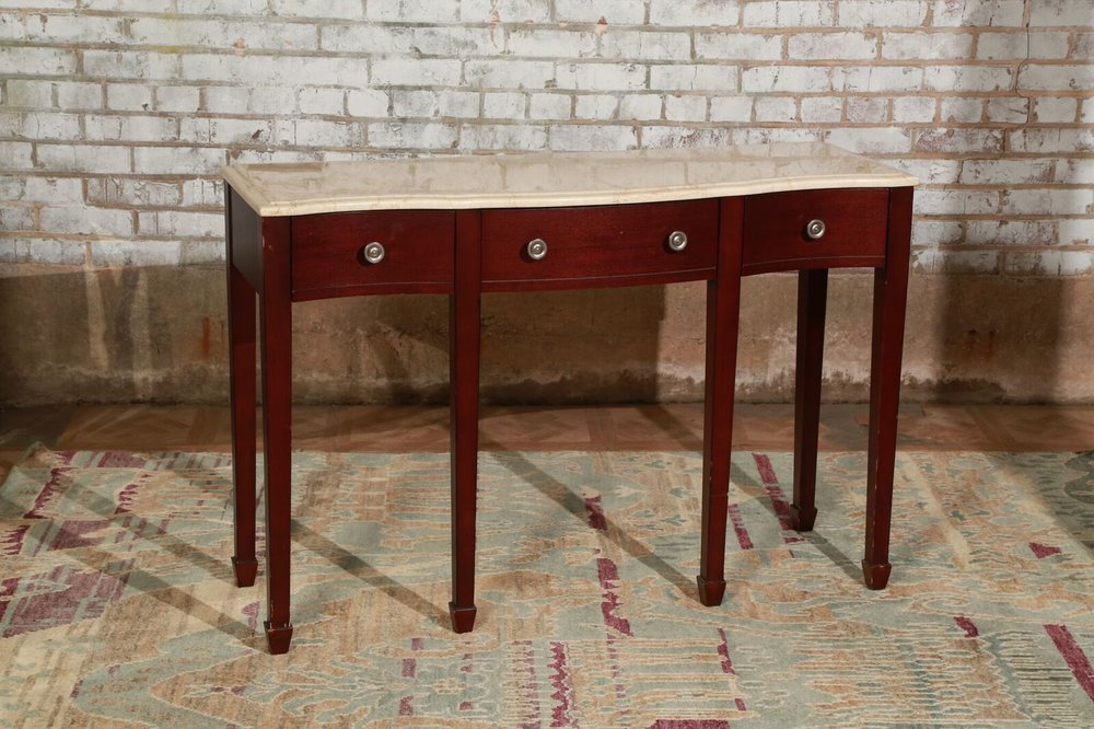 Marble Top Console $175