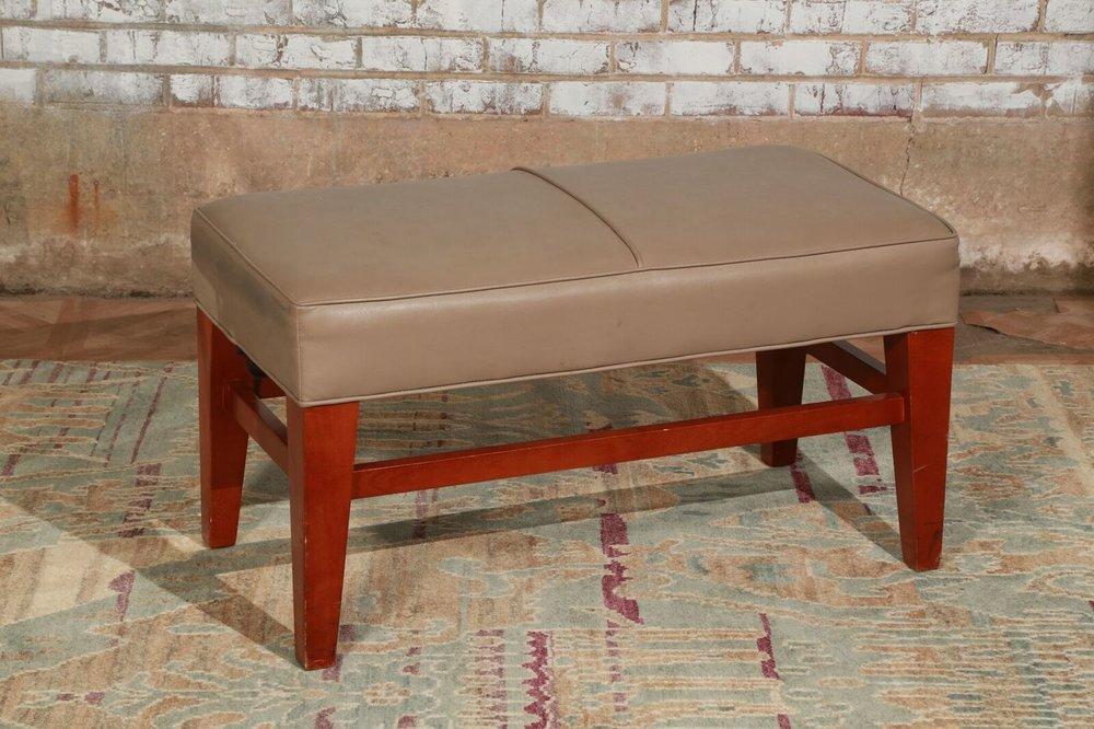 Small Tan Bench $35