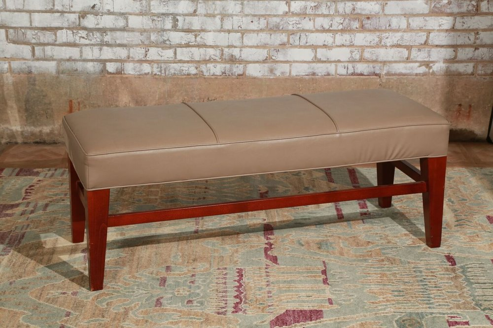 Large Tan Bench $45