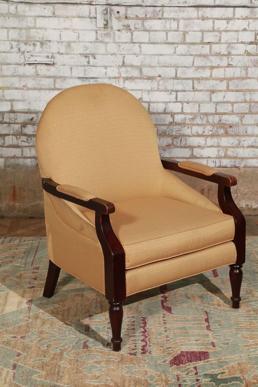 Gold Armchair $85