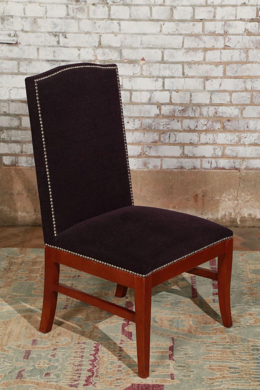 Purple Stud Chair $69