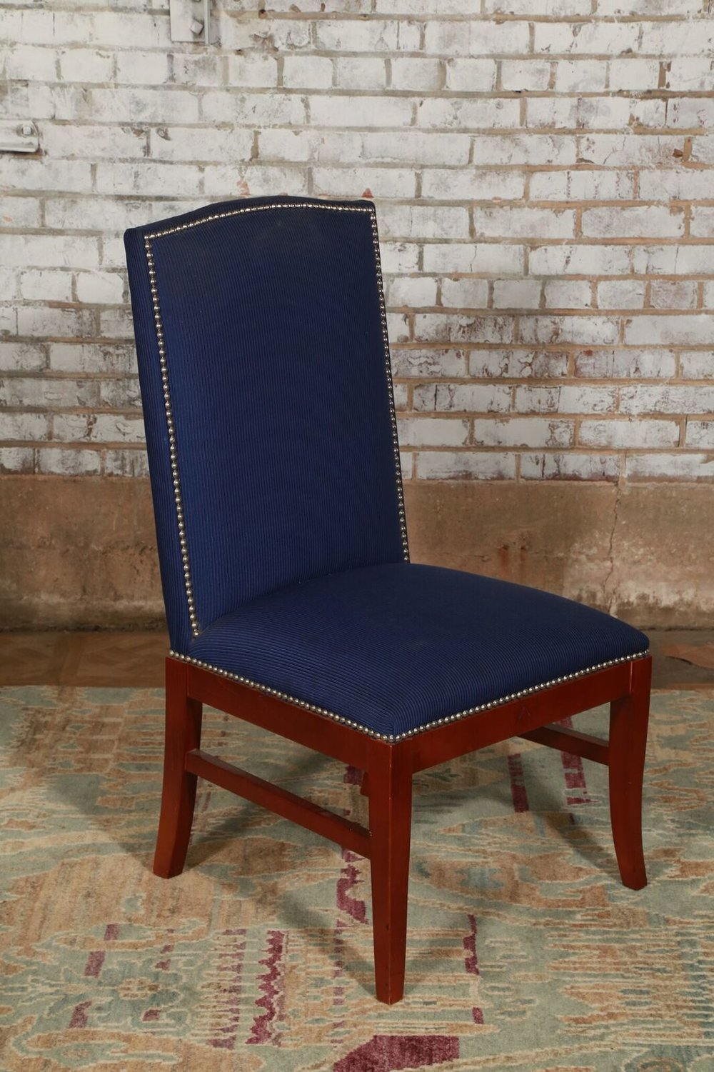 Blue Stud Chair $69