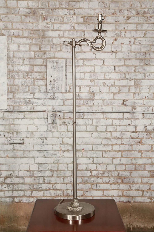 Silver Floor Lamp $25