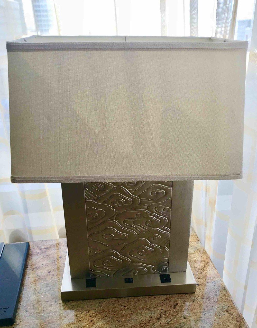 JW Square Lamp $30
