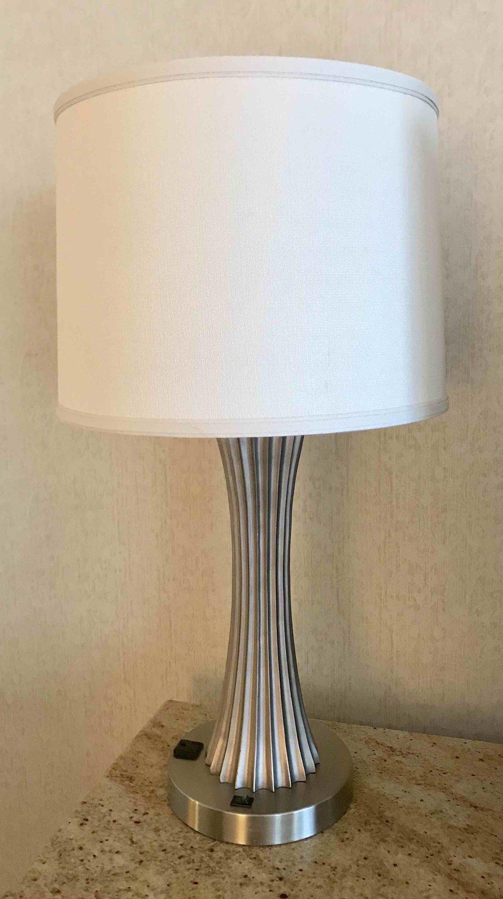 JW Fluted Lamp $25