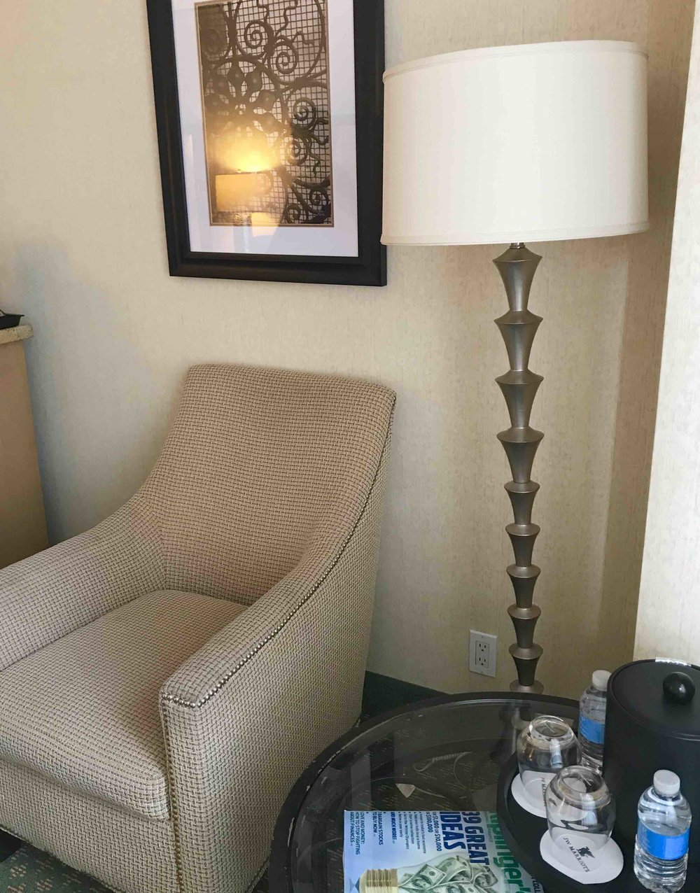 JW Floor Lamp $39