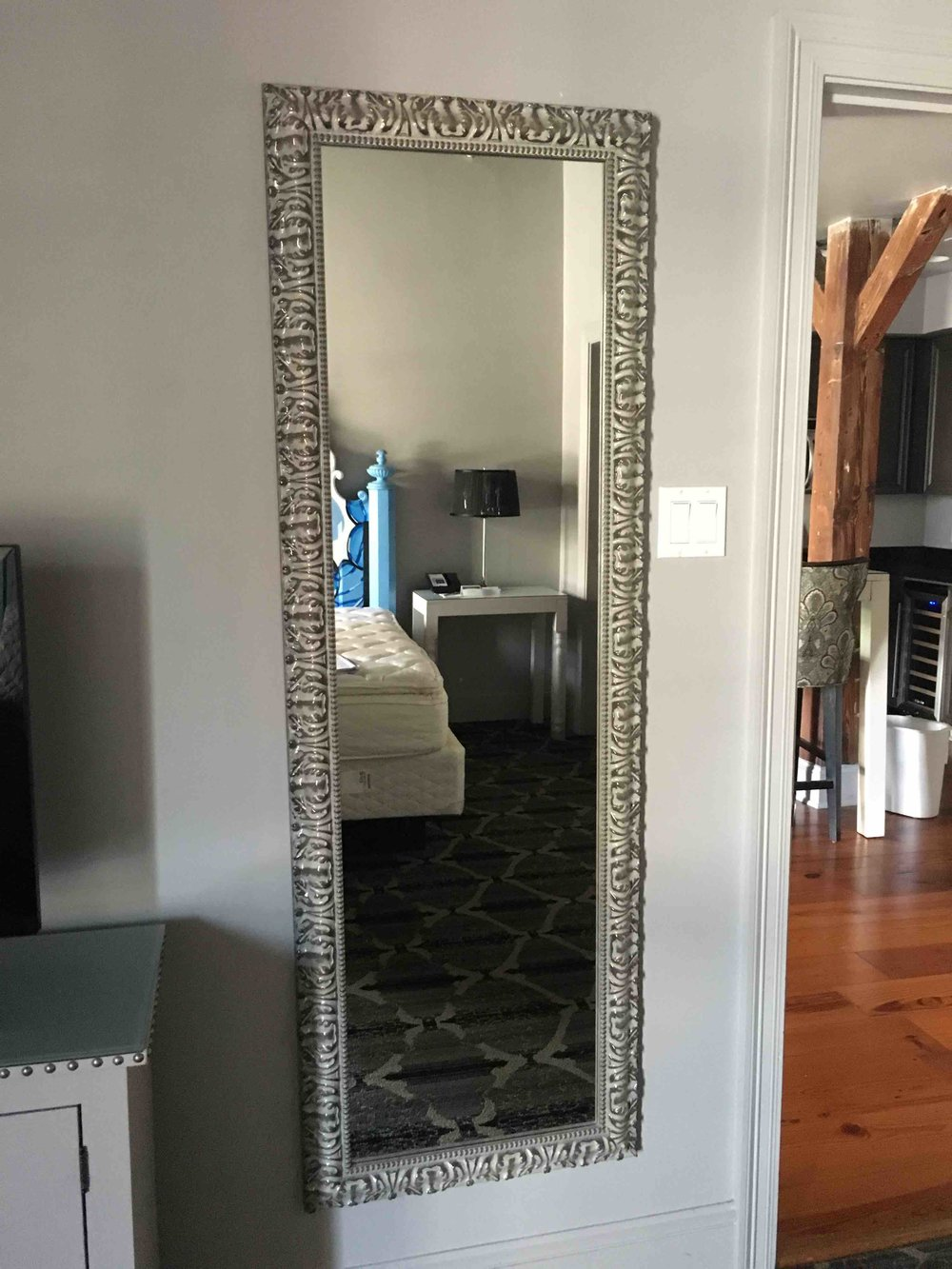 LP Floor Mirror $75