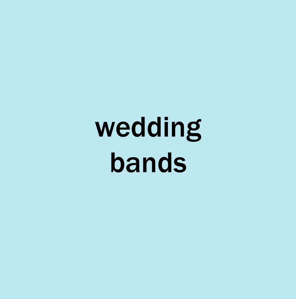 omnipop  wedding bands