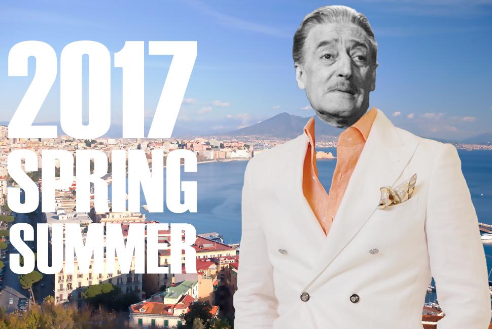 2017春夏コレクション(ダブルブレスト・スーツ)