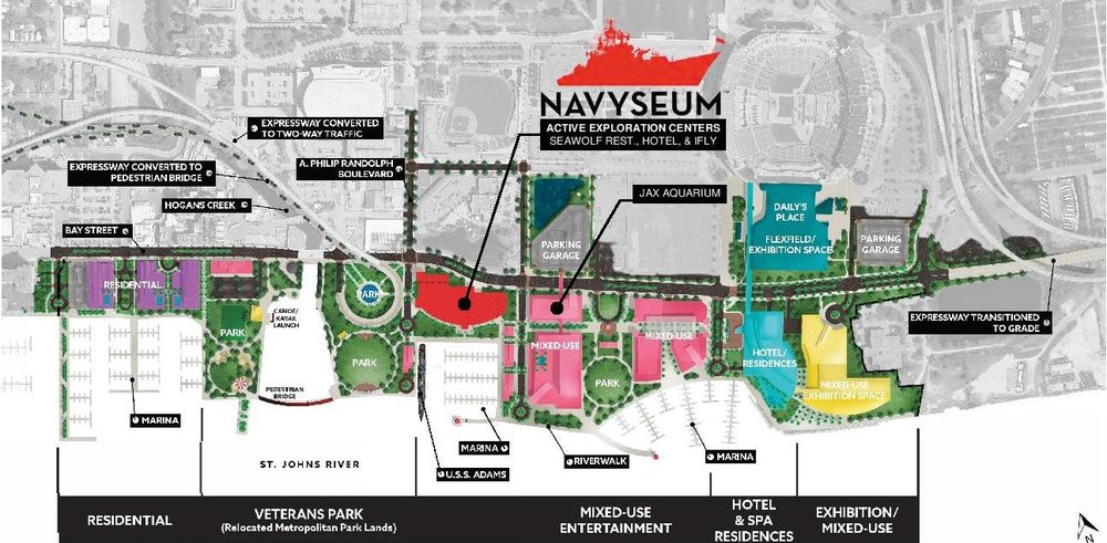 Port NAVYSEUM at The Shipyards Jacksonville - Surrounding Facilities