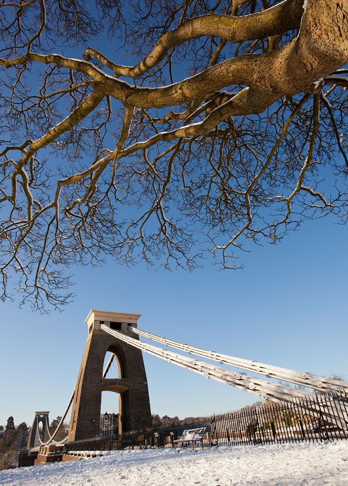 Bristol Suspension Bridge, Winter