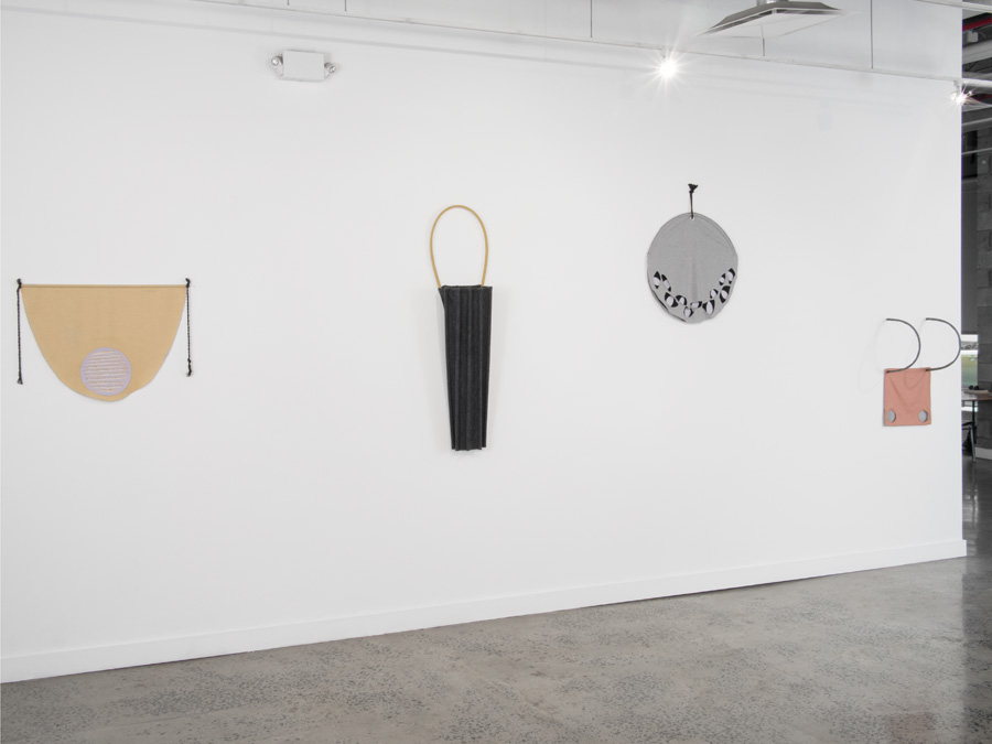 Installation view, Interior Hangings