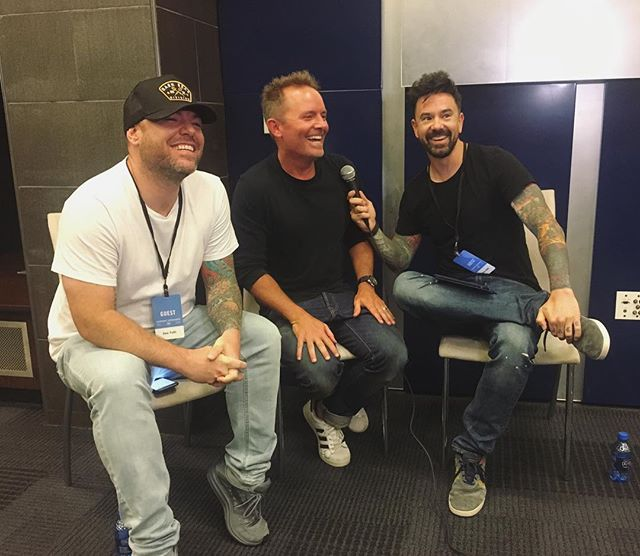 Thanks @christomlin for hanging out with us. You can still listen to the preshow at Star88.fm #harvestamerica