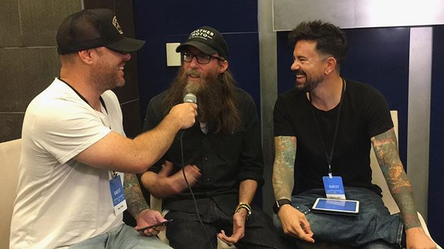 Don't want to miss this interview with @crowdermusic. Tune into Star88.fm  #harvestamerica
