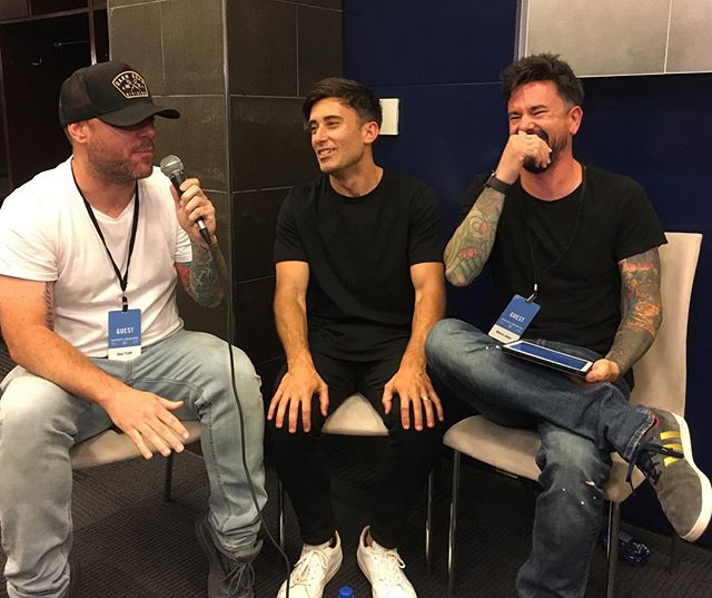 Thanks to @philwickham for stopping by to hang out! #harvestamerica