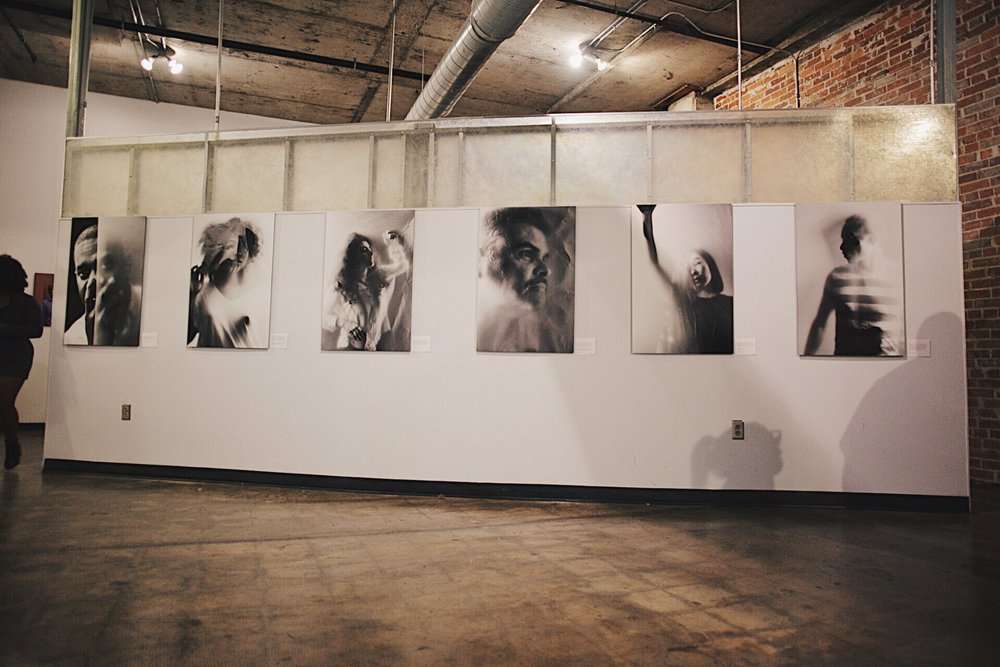 November 3, 2017 - The Transparent Project exhibition, sponsored in part by the Birmingham chapter of the NAACP,featured 16 photographs, a 7-minute documentary, an audio room, and interactive anonymous recording booth.