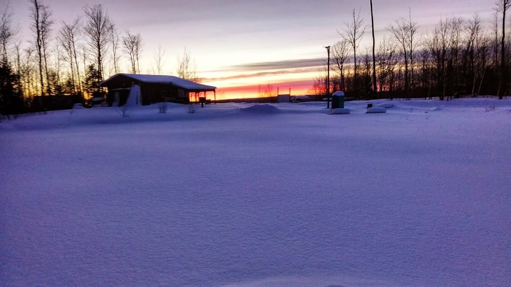 highbridge proshop snow at sunset.jpg