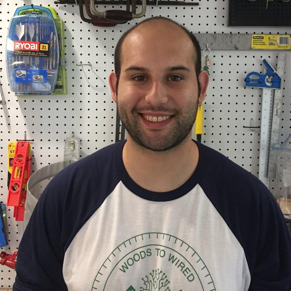 Joe Porco, Makerspace Specialist