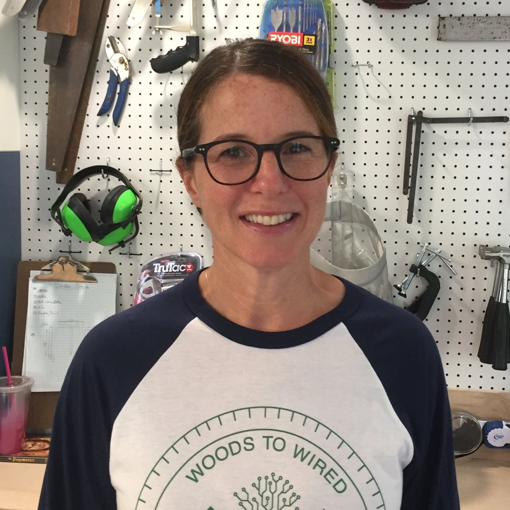Christine Boyer, Makerspace Professor