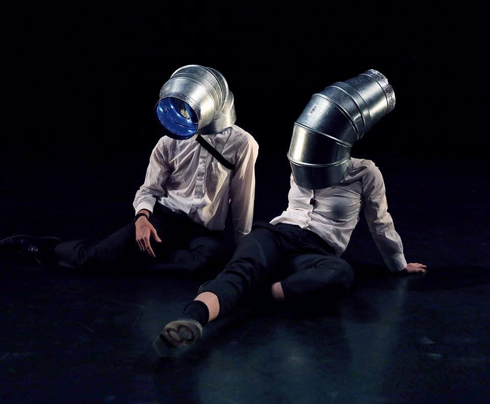 - Cordelia Istel in NoodleRice Studio's Untitled Performance. REDCAT NOW Festival, 2016.