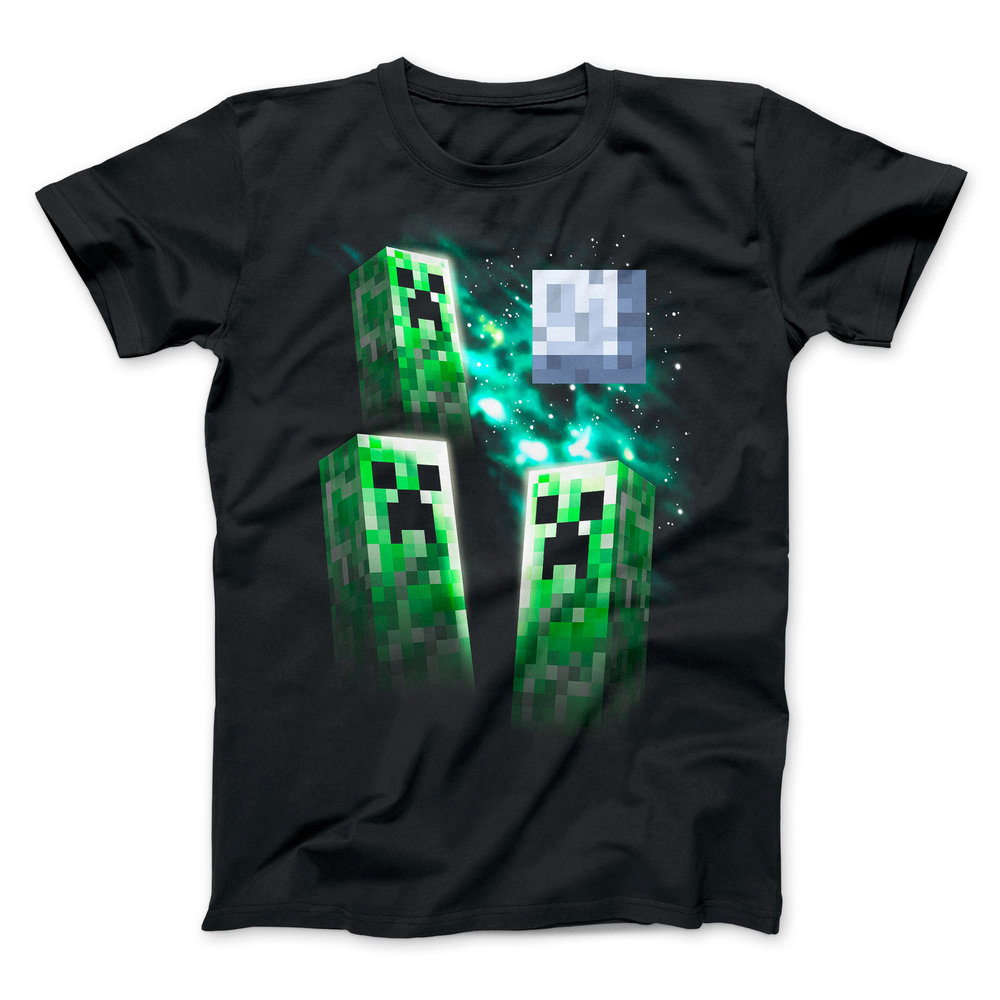 Minecraft - Three Creeper Moon