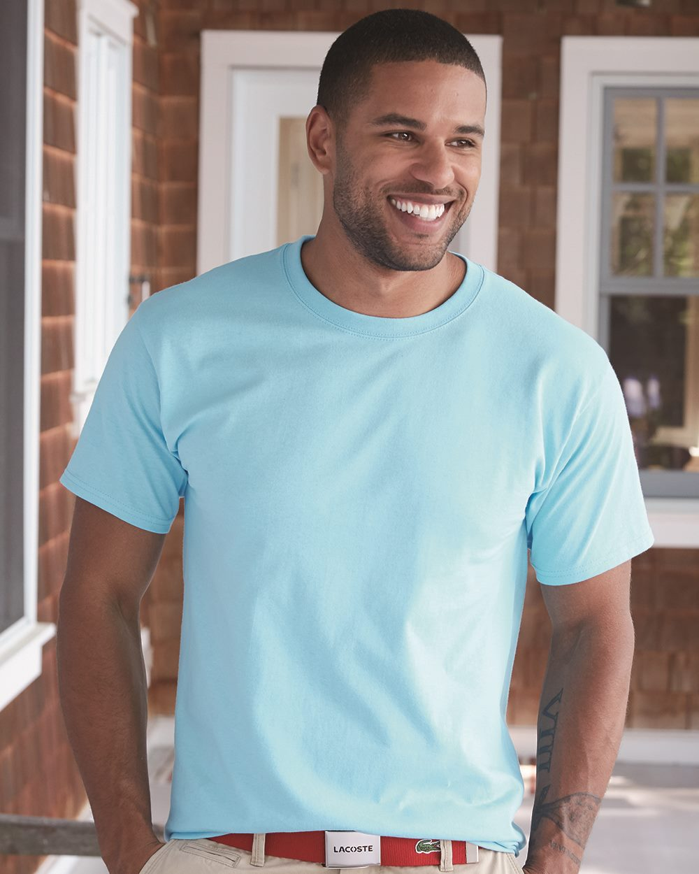 Hanes Tagless T-shirt - 5250                        Starting at $3.00 - Blank - 43 Colors