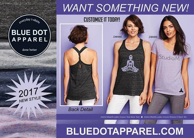 🕶️The Sun'll 🌞 come out.....TODAY!  Are you ready?  Get lots of new looks for your brand! BlueDotApparel.com  Let us help you look good!! 😎 #customtees #printinglife #customperformanceapparel #district made #screenprinting #bluedotapparel #gymshirts #gymapparel #yoga #gymnastics #springready
