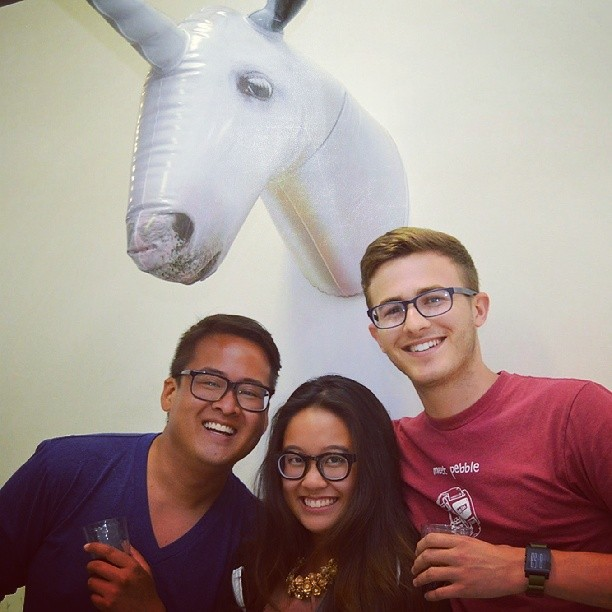 @owengeronimo thanks!!! @getpebble #Pebble team #WearTechCon #SFDW #WearableTech #SFDW14