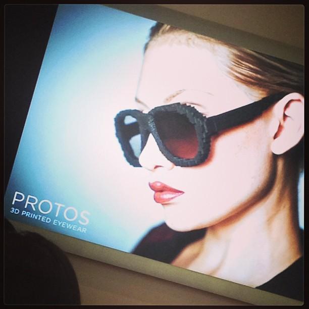 @geeknchic #wearTechCon @wearTechCon #sffama @ #protos custom 3D printed frames