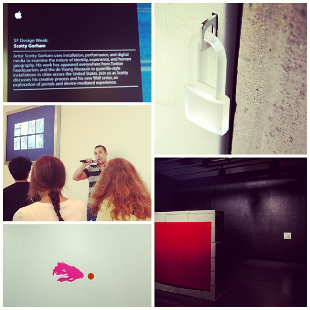 😳 Coolest presentation EVER!!! #scottygorham #weartechcon #sfdesignweek #wearabledesign #modernart #mindblowing #amazing #presentation via: @m_burmaa