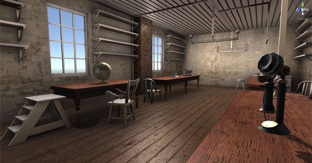Edison's Lab Rendering