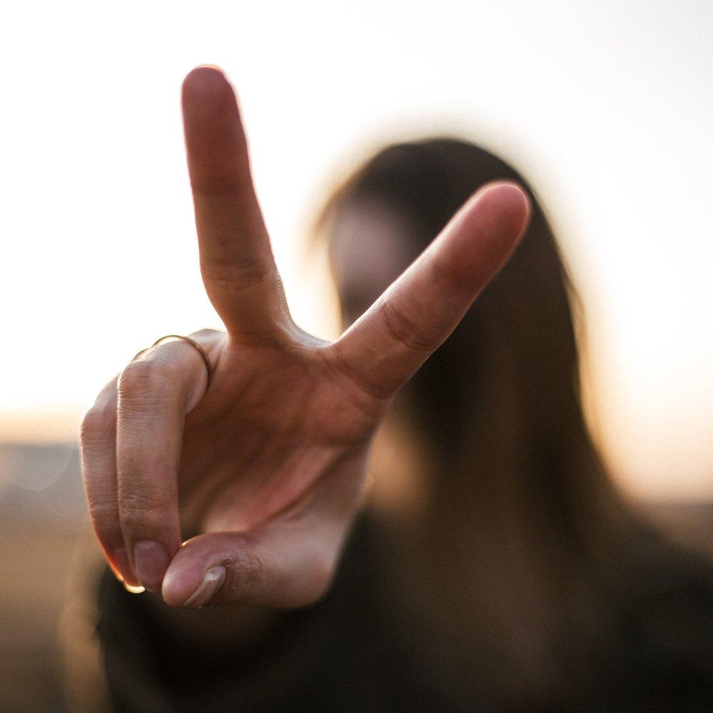 Rebecca Packard speaks on Peace