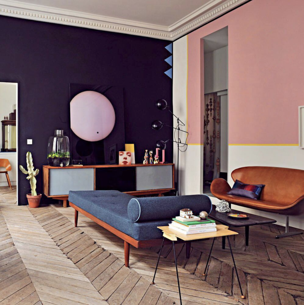 Jean-Christophe Aumas   Parisian apartment